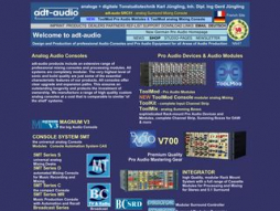 Site adt-audio.com