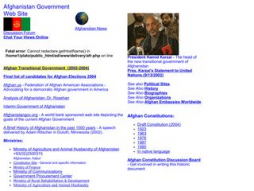 Site afghangovernment.com