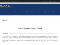 Site amcquestionbank.com