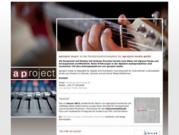 Site aproject-music.de