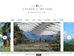 Site atasteofmylife.fr