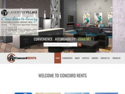 Site concordrents.com