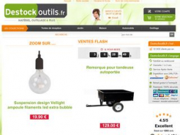 Site destockoutils.fr