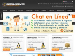 Site digitalserver.com.mx