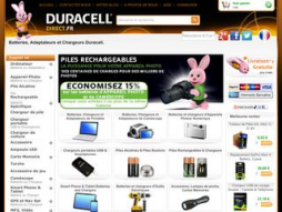 Site duracelldirect.fr