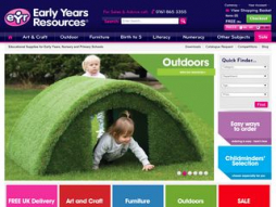 Site earlyyearsresources.co.uk