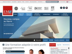Site ecole-management-normandie.fr