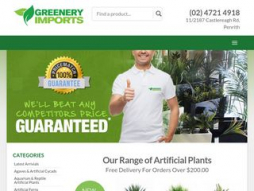 Site greeneryimports.com.au