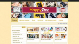 Site happyone.com.ua