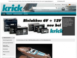 Site krickshop.de