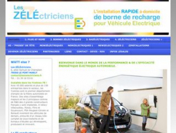 Site leszelectriciens.fr