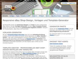 Site machhtml.de