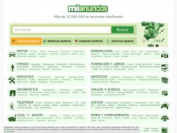 Screenshot milanuncios.es
