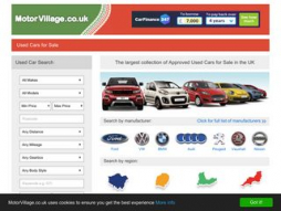 Site motorvillage.co.uk