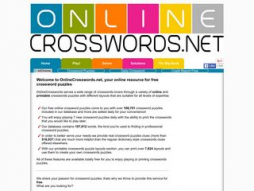 Site onlinecrosswords.net