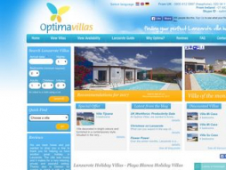 Site optimavillaslanzarote.com