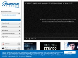 Site paramountpictures.fr