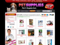 Screenshot pet-i-supply.com