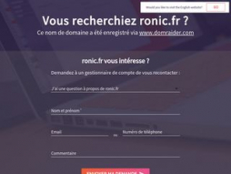 Site ronic.fr