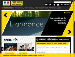 Site securite-routiere.gouv.fr