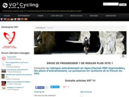 Site vo2cycling.fr